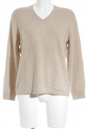 Rabe Cashmerepullover camel Casual-Look