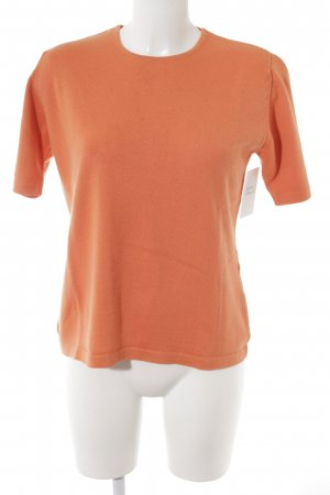 Rabe Kurzarmpullover orange Casual-Look