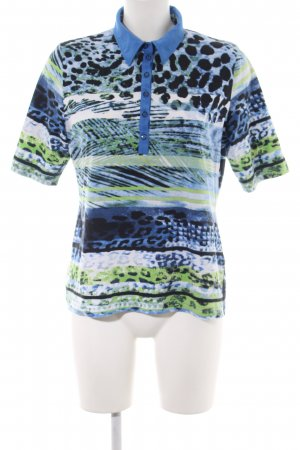 Rabe Polo Shirt abstract pattern business style