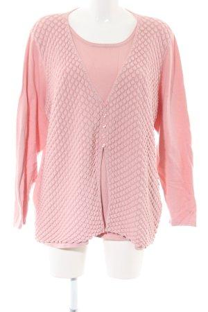 Rabe Strickjacke pink Casual-Look