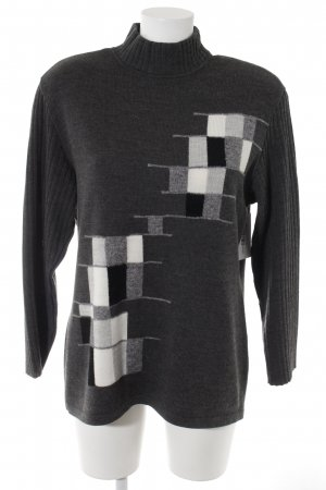 Rabe Strickpullover Karomuster Casual-Look