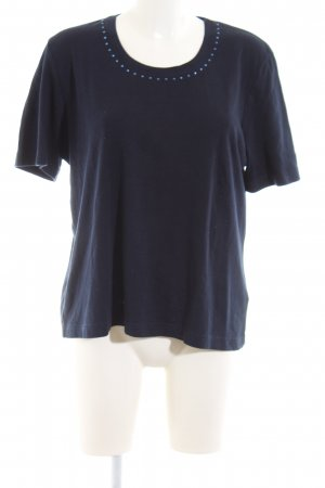 Rabe T-Shirt blau Casual-Look