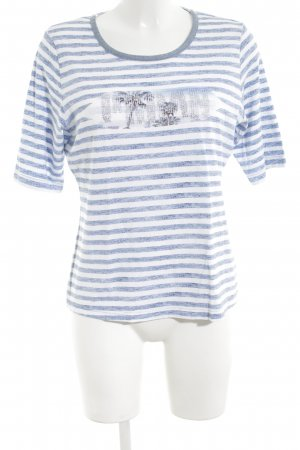 Rabe T-Shirt Motivdruck Casual-Look