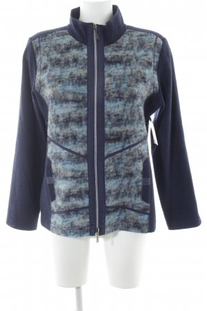 Rabe Wool Jacket spots-of-color pattern casual look