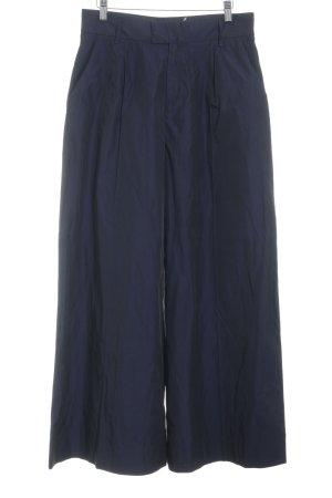 rabens saloner Pantalón anchos azul oscuro elegante