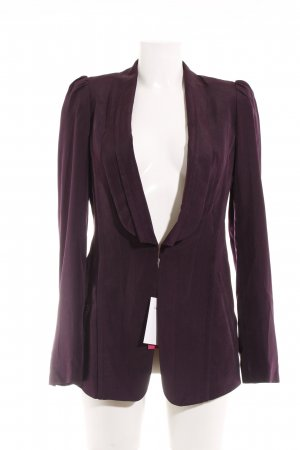 Rachel roy Kurz-Blazer dunkelviolett Business-Look