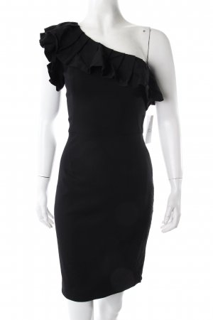Rachel Zoe One-Shoulder-Kleid schwarz