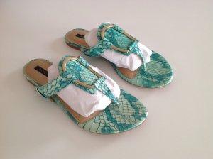 Rachel Zoe Toe-Post sandals turquoise