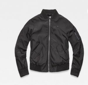 G-Star Bomber Jacket black polyester