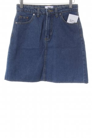 Rad. Jeansrock blau Casual-Look