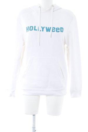 Rad. Sweatshirt weiß Motivdruck Casual-Look