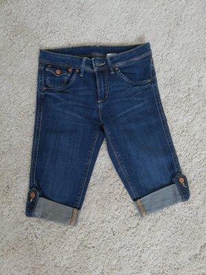 H&M Pantaloncino di jeans blu scuro