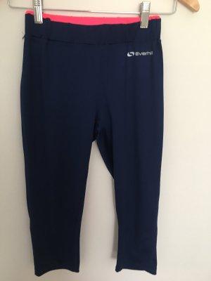 Pantalone da ginnastica blu scuro-rosa