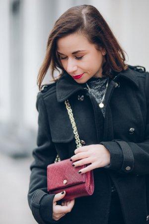 Radley London Designer-Umhängetasche mit goldener Hardwear, Kettenriemen NEU!