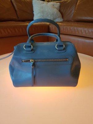 Radley London Sac bowling bleuet cuir