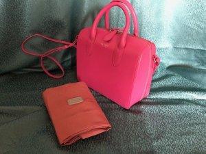 Radley London Frame Bag magenta leather