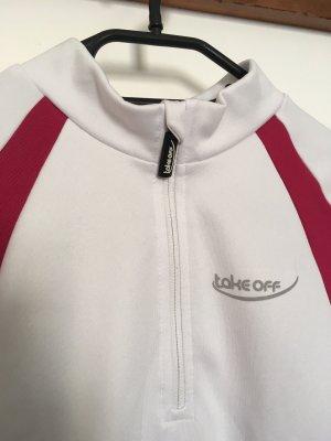 Sports Shirt white-magenta