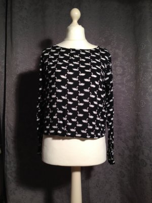 Räumungsverkauf noch 2 Tage !!! Luftiges Shirt mit Schwanenmuster von H&M