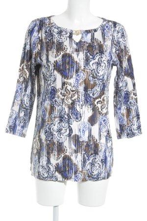 Rafaella Camisa tipo túnica estampado con diseño abstracto look casual