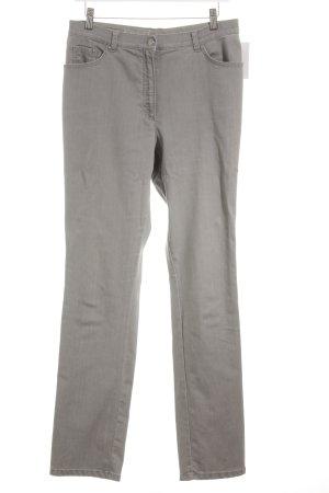 Rafaella Straight-Leg Jeans hellgrau Casual-Look