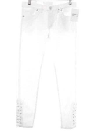Raffaello Rossi 7/8 Jeans weiß Casual-Look