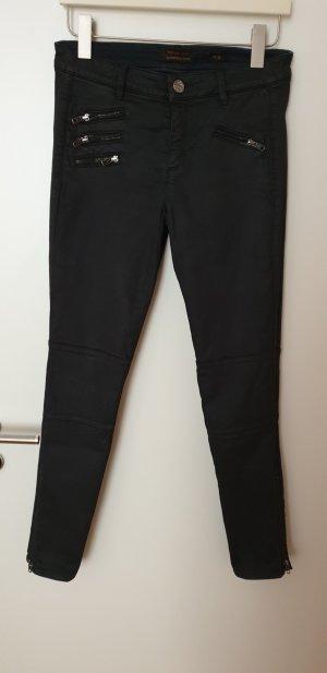 Raffaello Rossi Biker jeans zwart