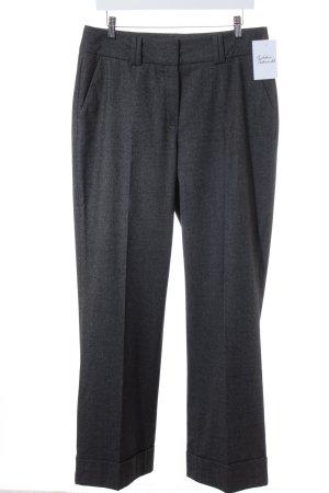 Raffaello Rossi Pantalon à pinces gris foncé style d'affaires