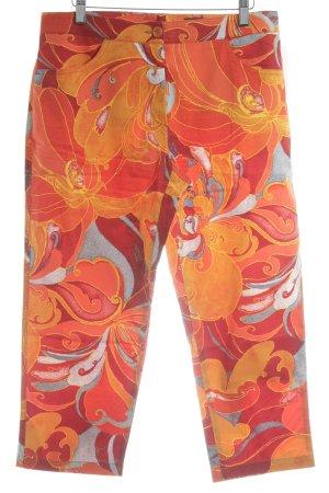 Raffaello Rossi Caprihose florales Muster extravaganter Stil