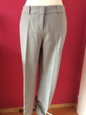 Raffaello Rossi Lage taille broek grijs-lichtgrijs Gemengd weefsel