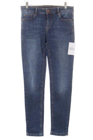 Raffaello Rossi High Waist Jeans dunkelblau Jeans-Optik