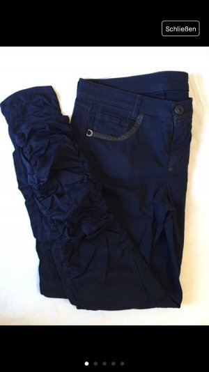 Raffaello Rossi Jeans baggy bleu foncé