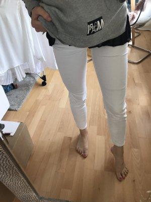 Zara Jeans a 7/8 bianco