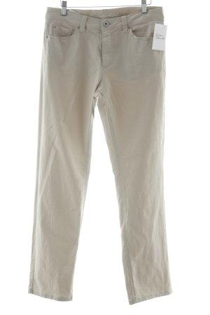 Raffaello Rossi Stretch Jeans creme klassischer Stil