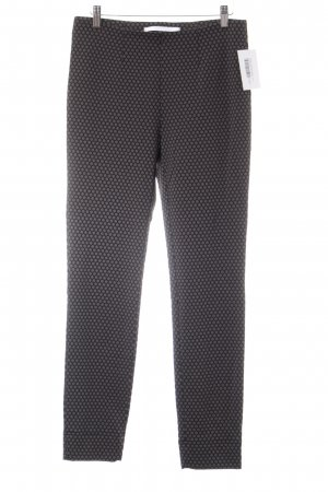Raffaello Rossi Stretch Trousers grey brown-black abstract pattern casual look