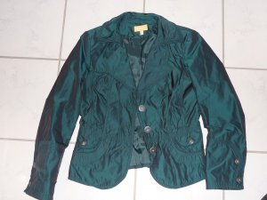 Raffinierter grün changierender Blazer von BiBa Gr. 36