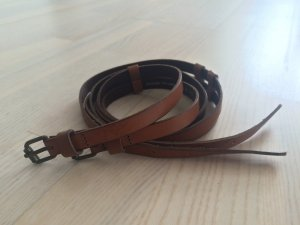 H&M Double Belt multicolored imitation leather