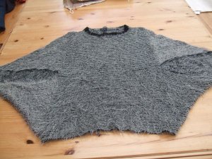 Bexleys Fine Knitted Cardigan black-grey