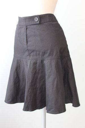 raffinierter Rock kurz tailliert ausgestellt retro rockabilly pinup Sommerrock schwarz whistles Gr. 36 S Baumwolle Seide