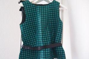 raffiniertes Blusen top in Smaragd von Hallhuber