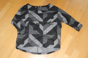 Desigual Knitted Top black-silver-colored