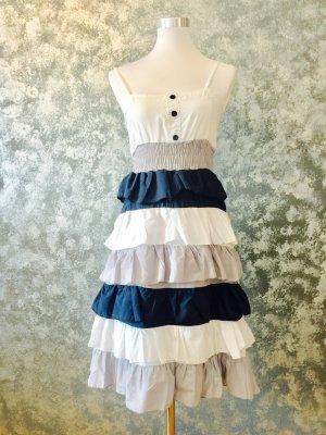 Raffiniertes Kleid in Größe 36 Marine - Look