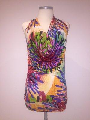 Risskio Cowl-Neck Shirt multicolored