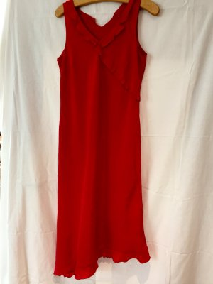 Raffiniertes rotes Kleid von Tuzzi