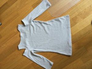 Tally Weijl Geribd shirt lichtgrijs