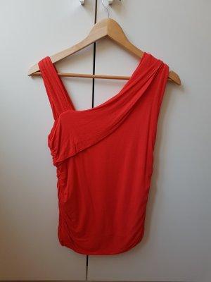 ××× raffiniertes Shirt in neonrot ×××