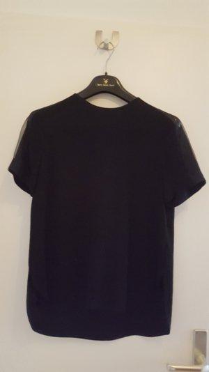 raffiniertes Shirt mit transparenter Schulterpartie