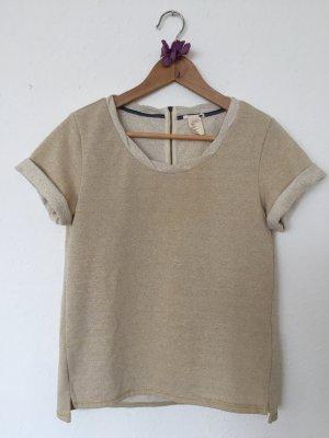 Raffiniertes Sweatshirt sandfarben/gold, Gr.XS, von Levi's
