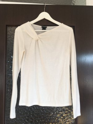Ann Taylor Knitted Top natural white