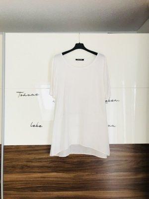 Betty Barclay Camisa larga blanco-blanco puro