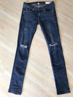 Rag and Bone Jeans blau Gr. 28/34